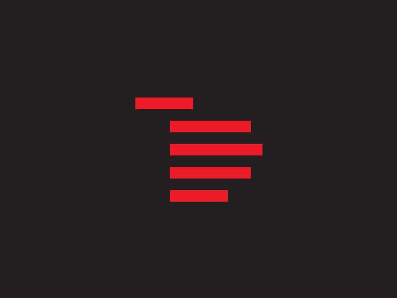 логотип, рука, минимализм