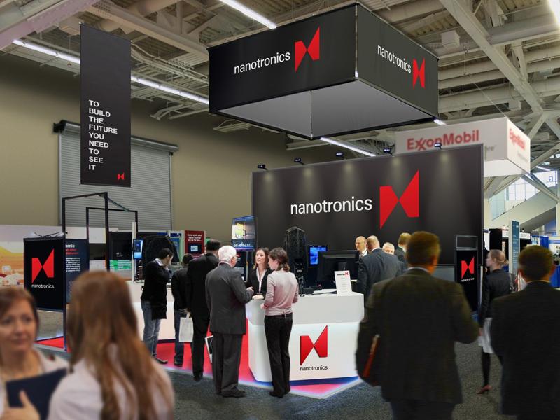 Стенд Nanotronics на выставке