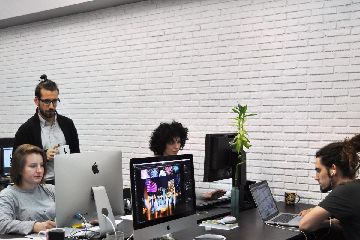 новый офис, Artplay, работа